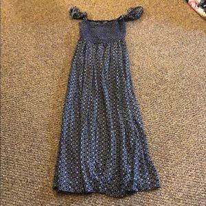 Lulu's Dresses - Lulus Off The Shoulder Strap Maxi Dress